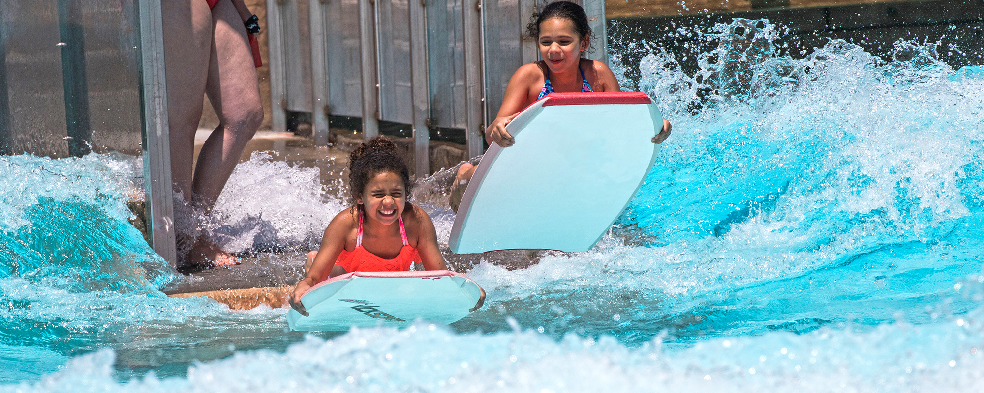 water ride boogie boarding pool