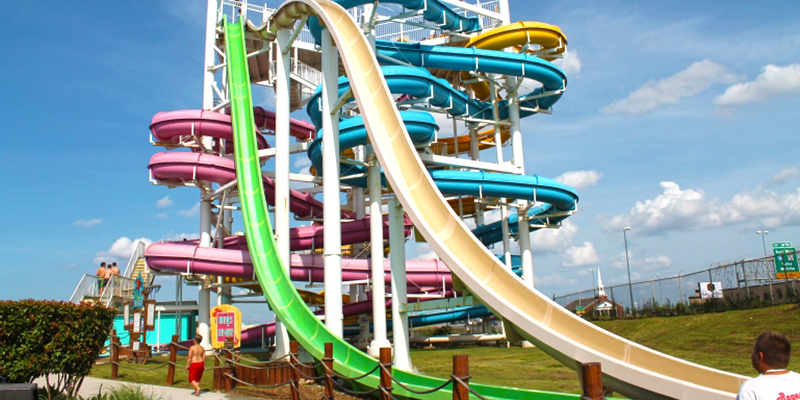 Slide Structure at White Water Bay