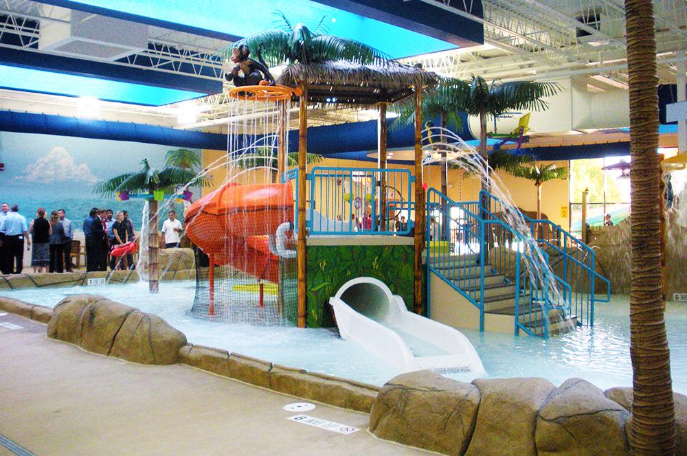 Indoor Water Play Structure