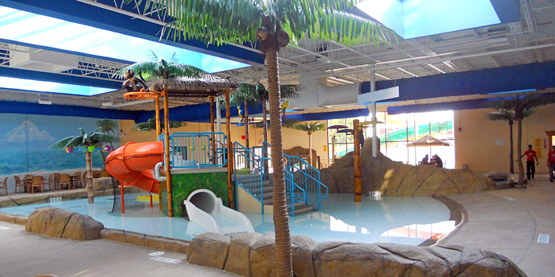Clarion Hotel Inn Multi level play structure