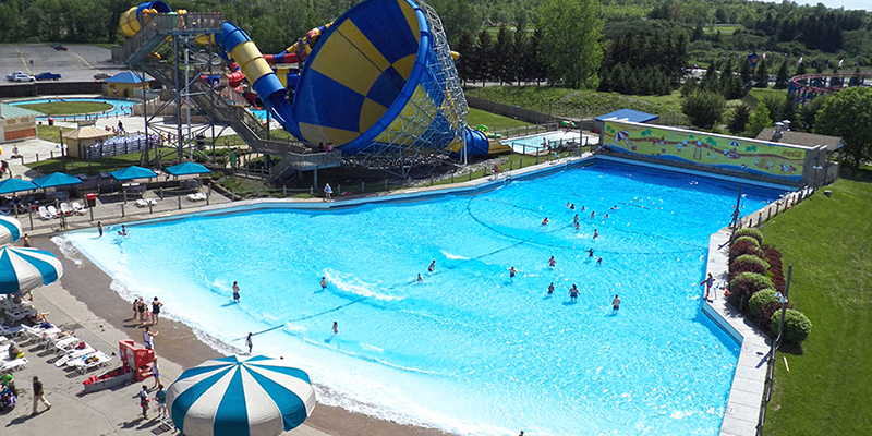 Darien Lake Wave Pool