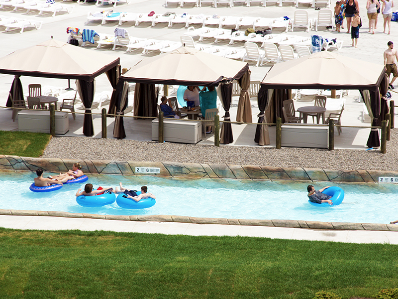 Darien Lazy River and Cabanas
