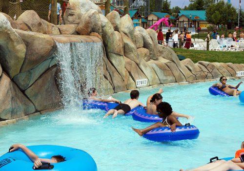 Splashtown Waterpark Lazy River