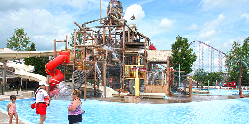 Darien Lake Multi Level Play Structure