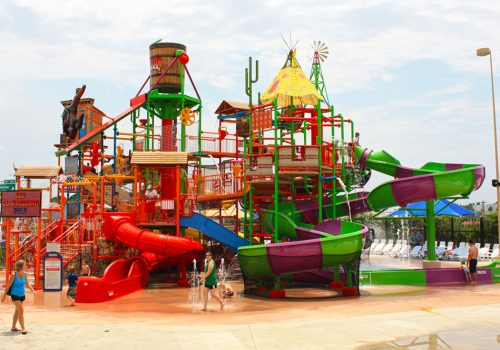 Multi-Level Play Structure at Frontier City