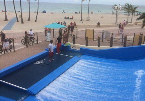 Margaritaville FlowRider with Boardwalk Access