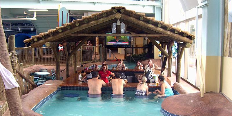 Pool Bar at Kalahari Resort in Sandusky Ohio