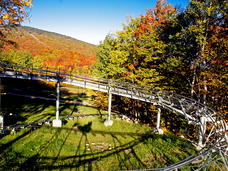 Killington Coaster in Fall
