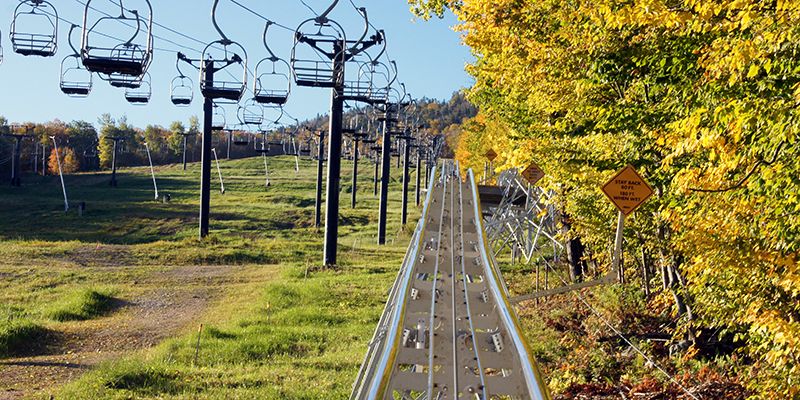 Killington Mountain Coaster Track