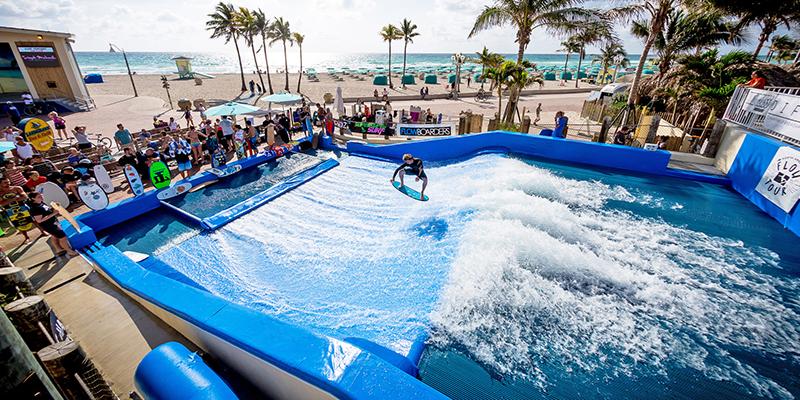 Margaritaville FlowRider Surf Simulator