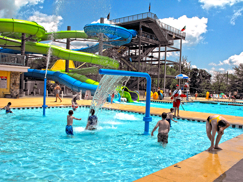Nashville Shores Slides and Kids Play Area