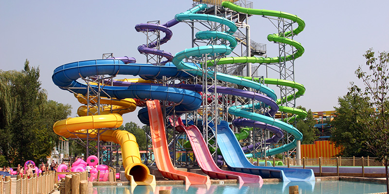 Wildwater Kingdom has Multiple Water Slides for Guests to Enjoy