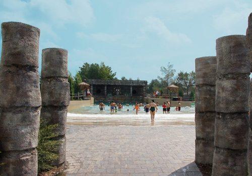 Amazoo Waterpark Wave Pool Entrance