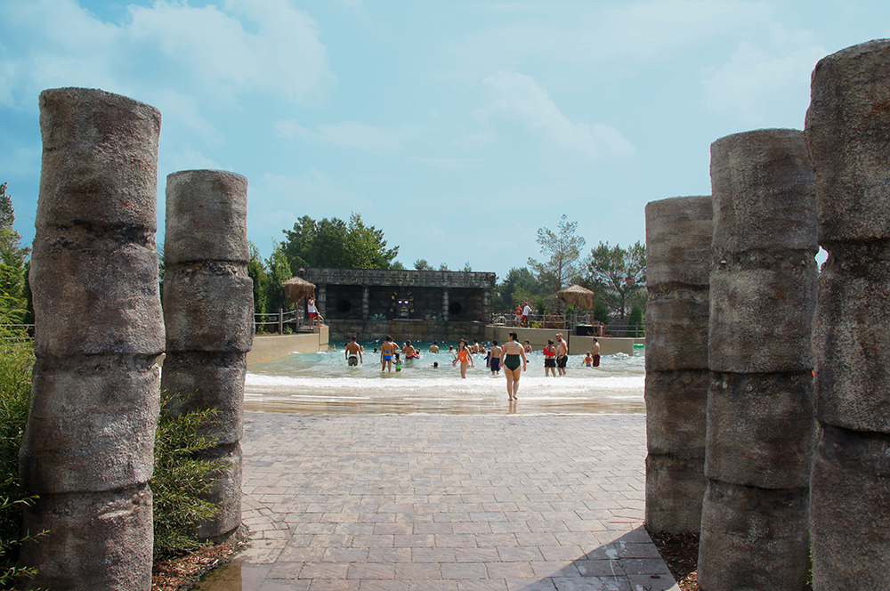 Amazoo Waterpark Wave Pool Entrance