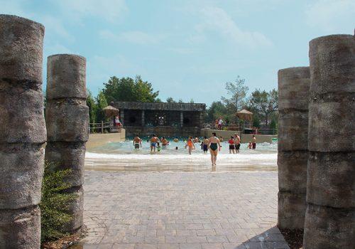 Amazoo wave pool