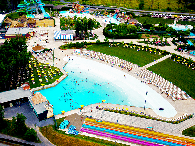 Overview of Wave pool