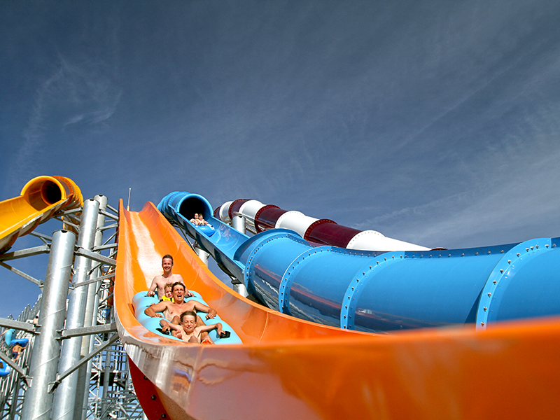 Slides at Calypso