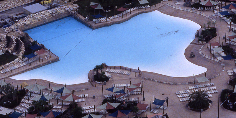 Aerial Photo of Lone Star Lagoon Wave Pool