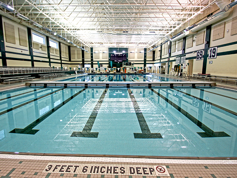 View of Shen Aqua Center Bulkhead