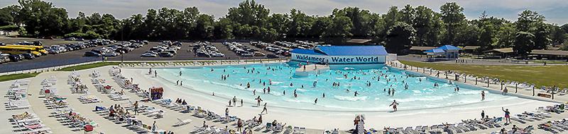 waldameers giant new wave pool in pa