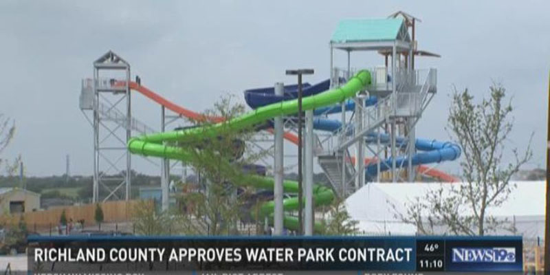 Richland County Waterpark Announcement for featured image