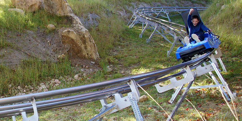 Killington Mountain Coaster Fall Featured Image