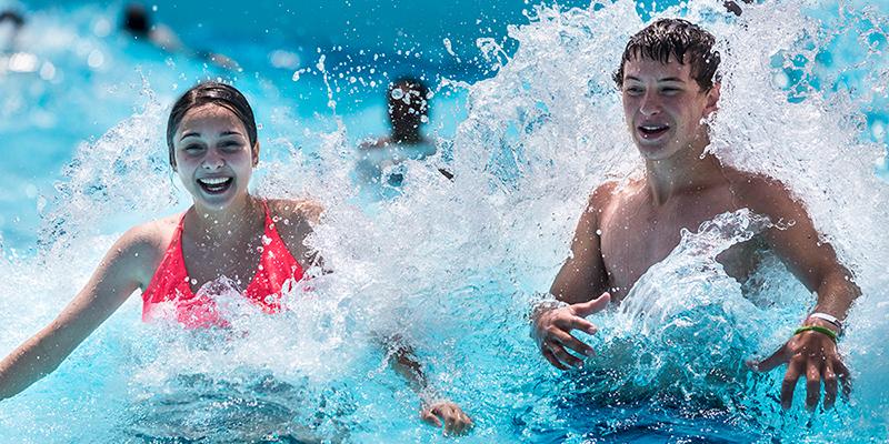 Waldameer Water World Wave pool