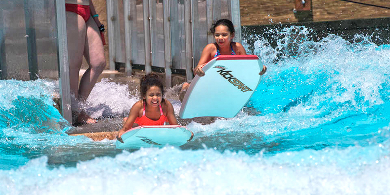 Boogie Boarding Surf Ride ADG Water Rides