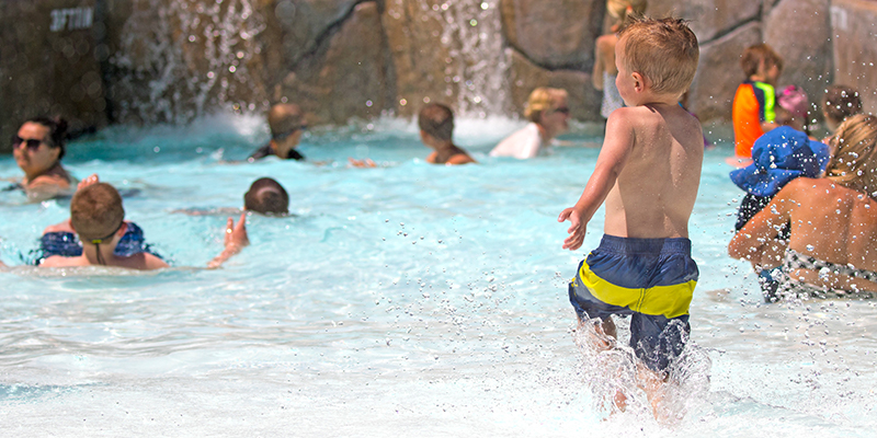 ADG's water ride mini kids wave pool