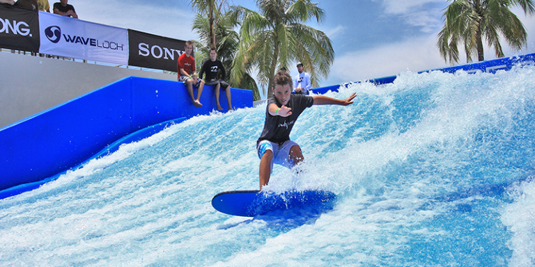 FlowRider at the Waldorf Astoria