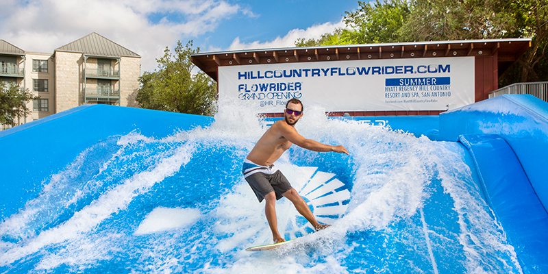 Hyatt Hill Country FlowRider