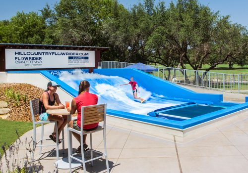 Hyatt Hill Country FlowRider Surf Attraction