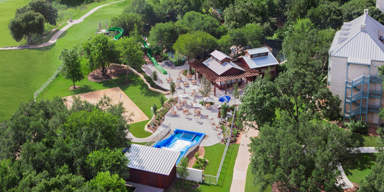 Hyatt Hill Country Aerial
