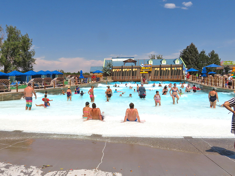 Hyland Hills Water World Boogie Boarding Surf Pool Water Ride