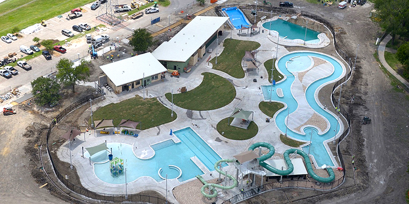Jack Carter Pool Park Renovation