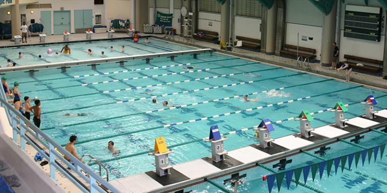 Asphalt Green Pool Overview