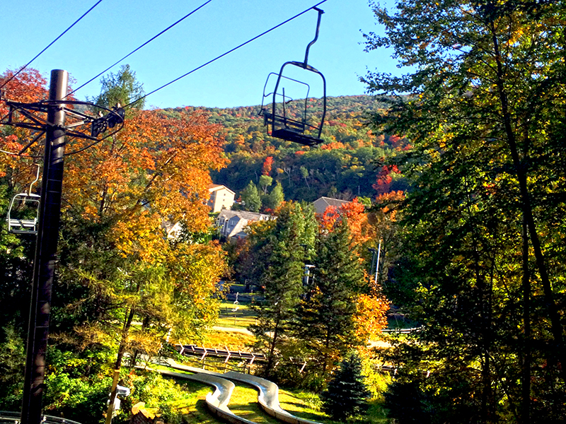 Chairlift and Alpine Slide
