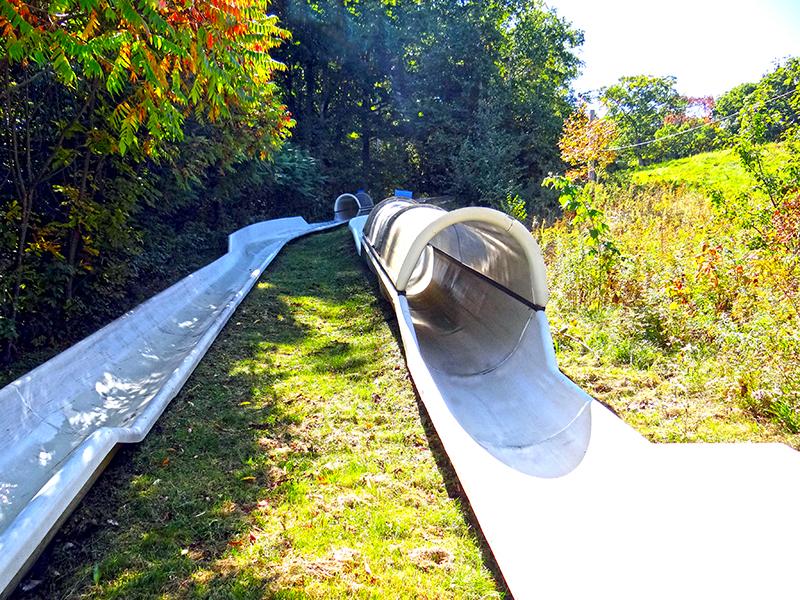 Alpine Slide Tracks