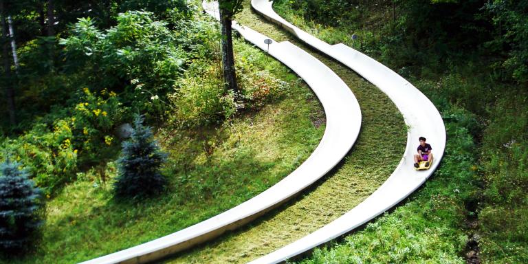 Track for Mountain Slide
