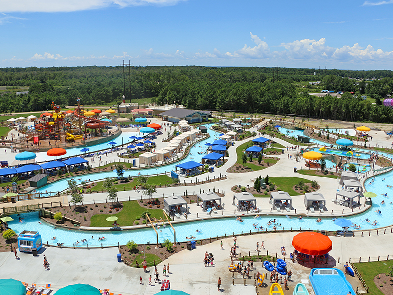 H2OBX waterpark designed and built by ADG