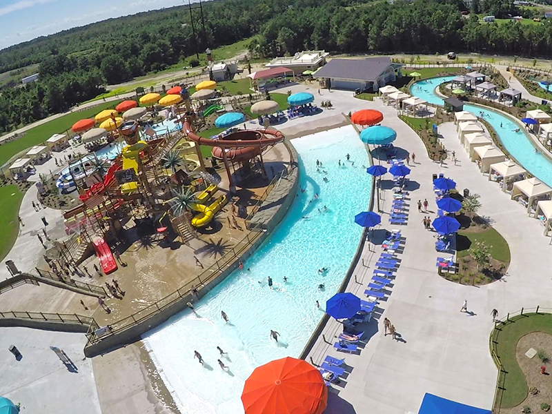 H2OBX watepark twin tides adg water ride