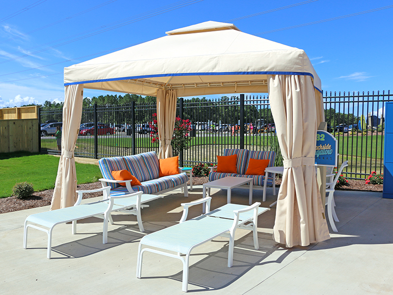H2OBX waterpark cabanas