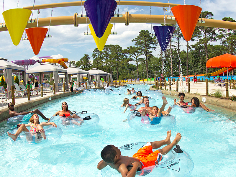 H2OBX waterpark river