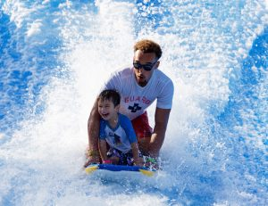 FlowRider Child Surfing