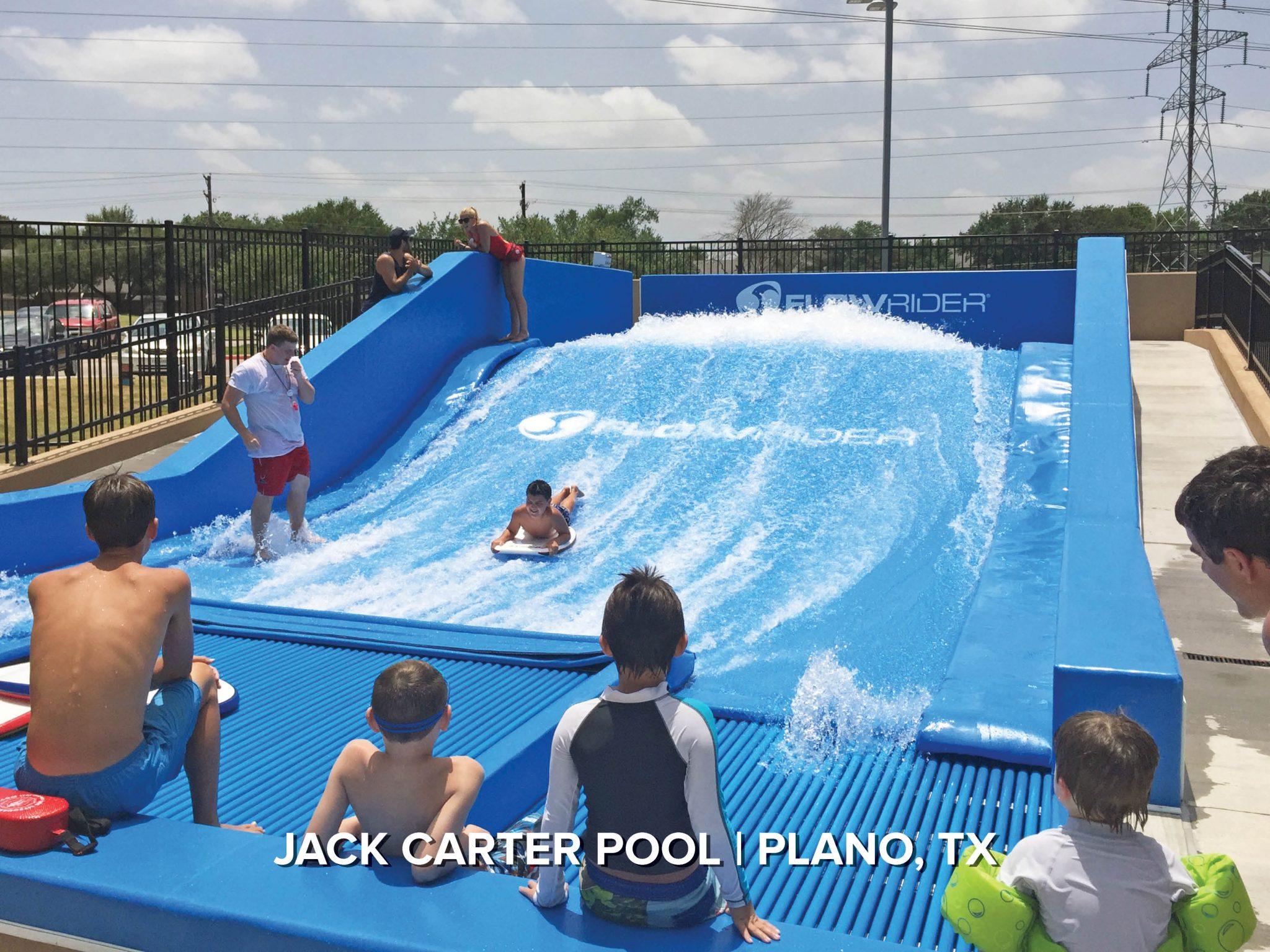FlowRider at jack carter municipal waterpark