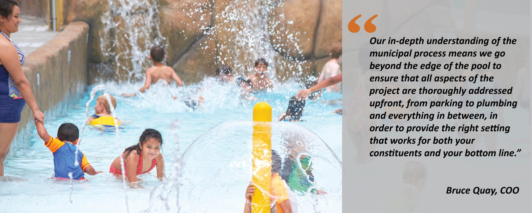 water park at municipality quote