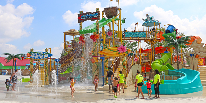 Wet n Wild Toronto Jr Multi Level Play Structure