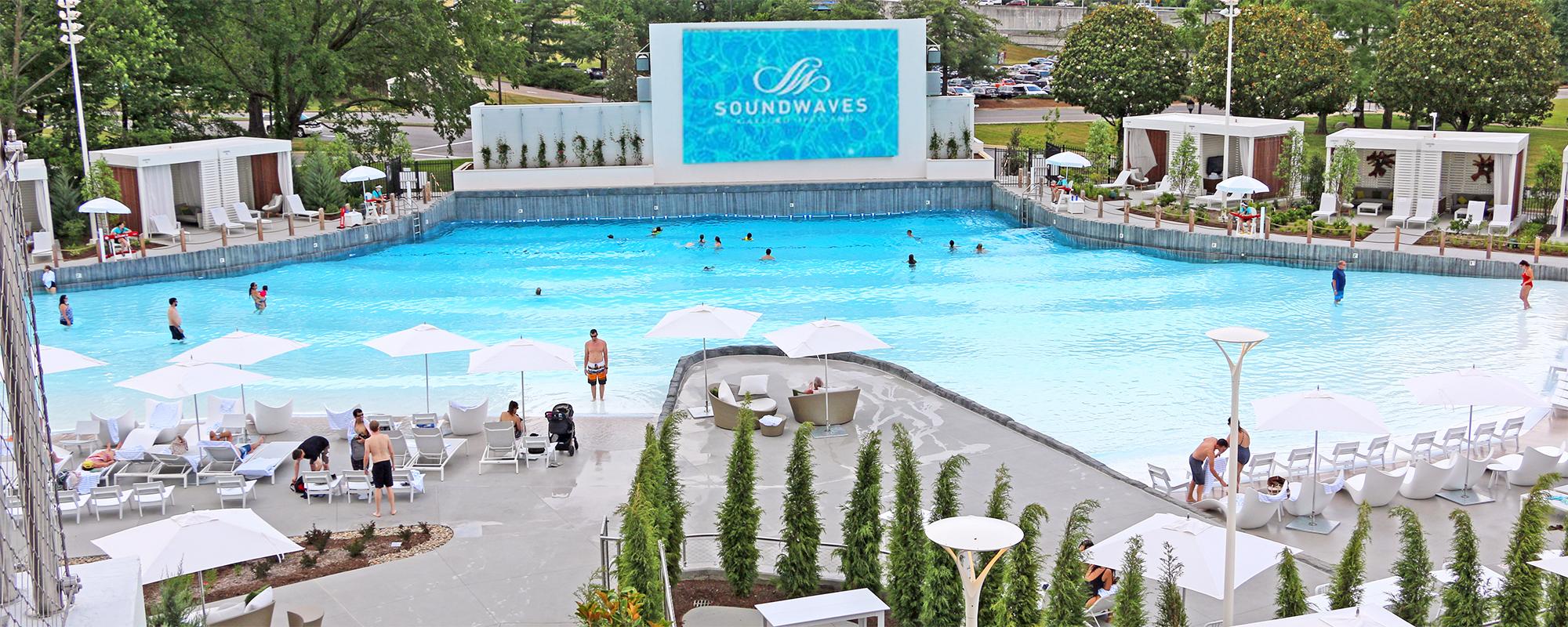 resort wave pool at opryland