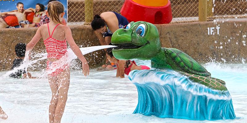Mini Harbour kids mini wave pool water ride attraction
