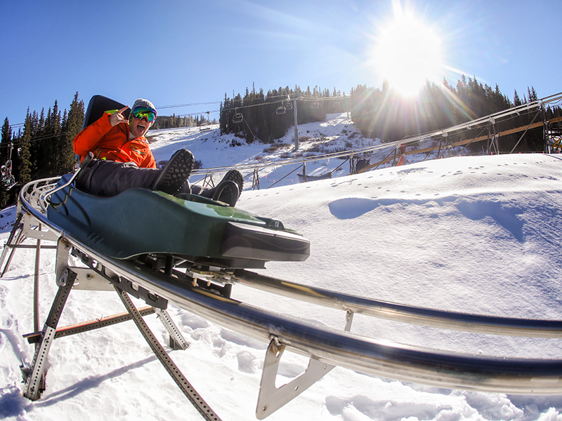 ADG Mountain Coaster at Copper Mountain Resort